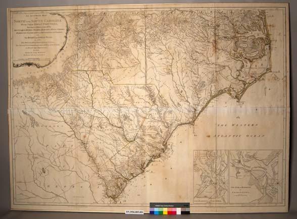 BIG 1773 SC MAP Marlboro McCormick County Lyman Lynchburg Manning McBee SURNAMES