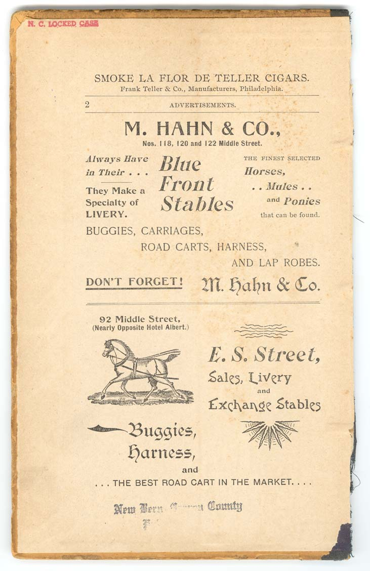 1893 Business Directory, Pt 1