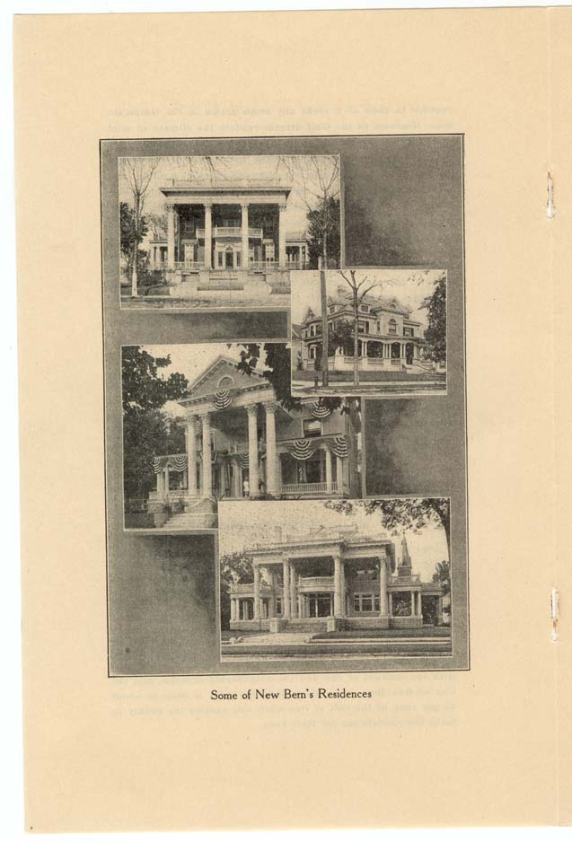 """Some of New Bern's Residences"""