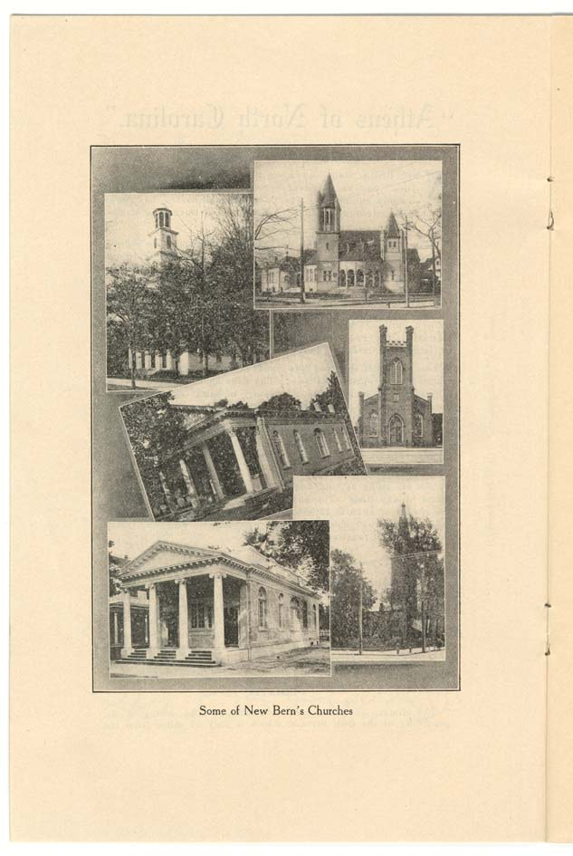 """Some of New Bern's Churches."""